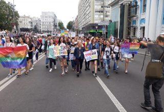 В Киеве прошёл «Марш равенства»
