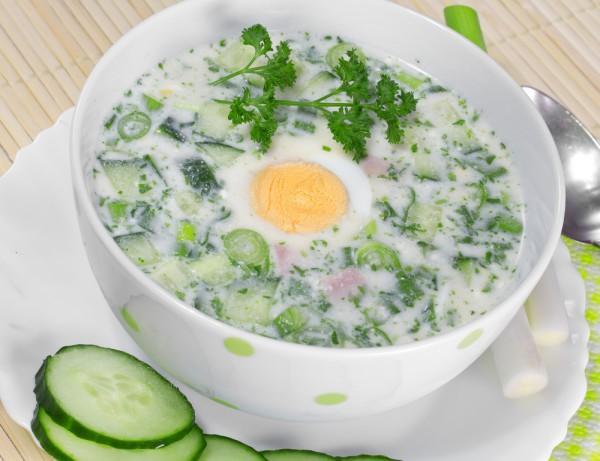 Десять рецептов холодных супов для жаркого лета