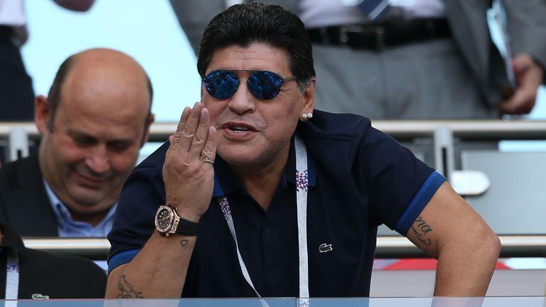Марадона не исключил, что после окончания контракта в «Динамо-Брест» может остаться жить в Беларуси