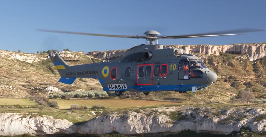 Два французских вертолёта Airbus прибыли в Украину