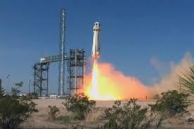 Blue Origin перенесла испытание своего суборбитального корабля New Shepard