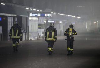 В аэропорту в Риме произошел пожар