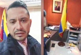Неизвестные напали на генеральное консульство Венесуэлы в Эквадоре