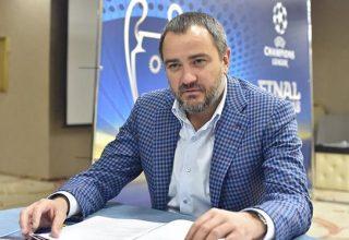 Глава Федерации футбола Украины Павелко избран в новый состав исполкома УЕФА