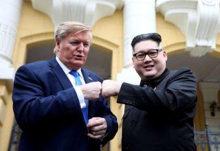 Двойники Ким Чен Ына и Дональда Трампа появились в Ханое накануне второго саммита США-КНДР