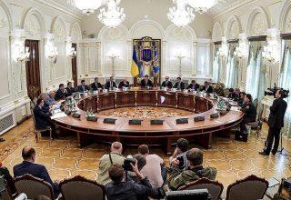 Оборонный бюджет Украины на 2020 год утверждён Совбезом