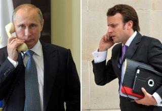Президенты Франции и России обсудили транзит газа через Украину