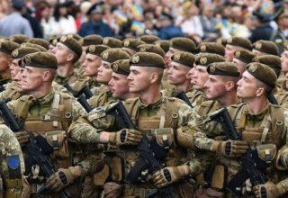 День вооруженных сил в Украине