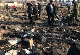 В Иране разбился украинский пассажирский самолёт