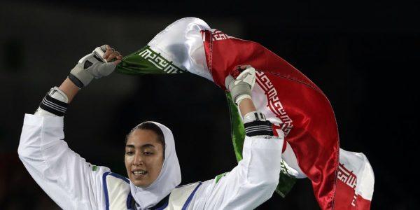 Единственная иранская олимпийская медалистка уехала из страны