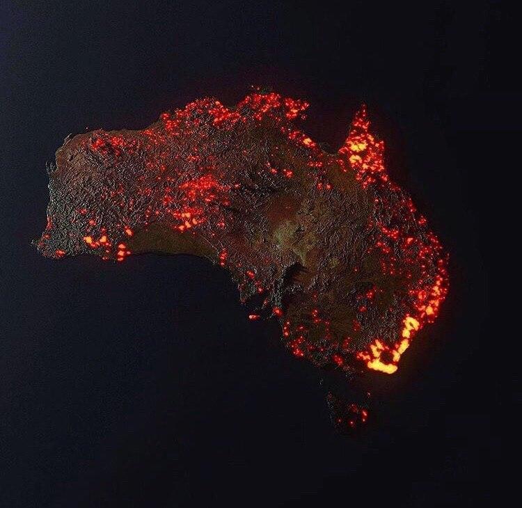«Зеленые легкие» планеты в дыму и пламени, огонь уже виден из космоса