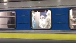 В Киеве из-за коронавируса не выпускают пассажиров поезда из ЭС