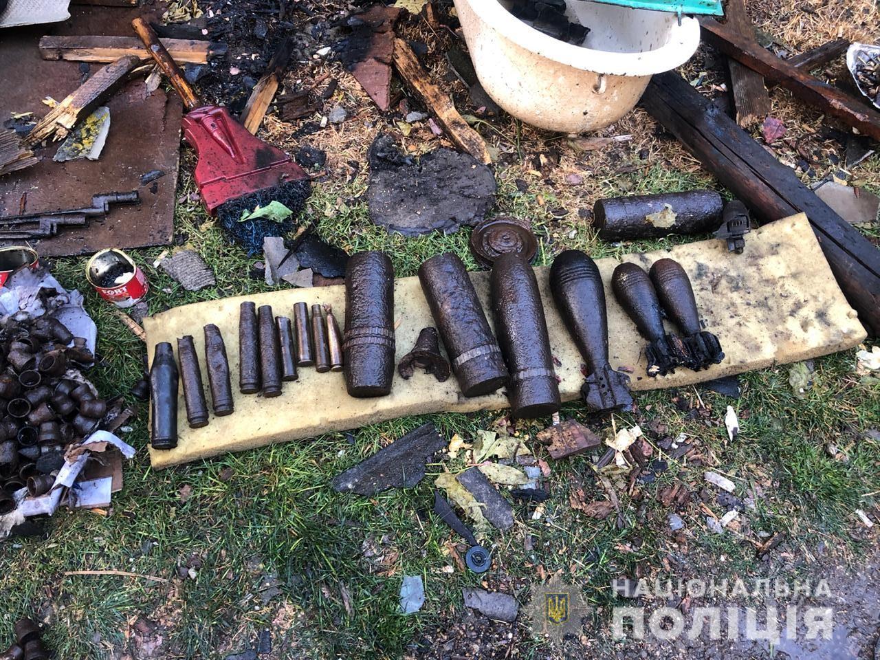 В Одесской области в результате взрыва снаряда времён Второй мировой погиб мужчина