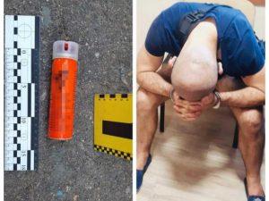 В одном из Одесских отделений полиции нетрезвый мужчина напал и травмировал правоохранителей