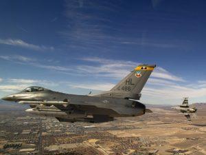 В США разбился истребитель F-16, есть погибший