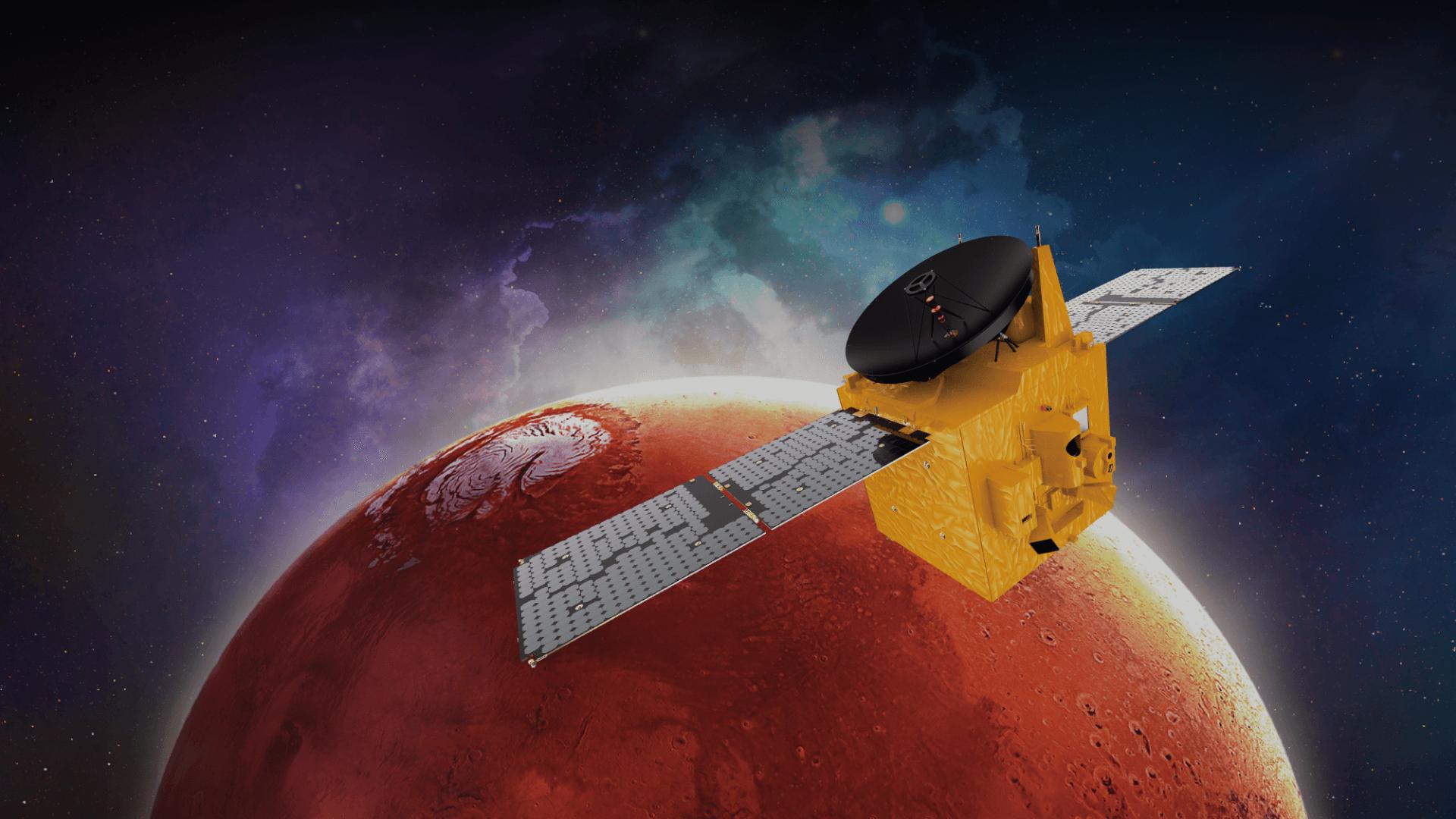 ОАЭ произвели успешный запуск к Марсу первой межпланетной станции Al Amal