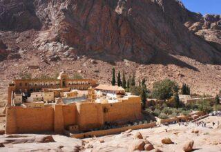 В Египте построят новый курорт вокруг монастыря, история которого началась еще в IV веке