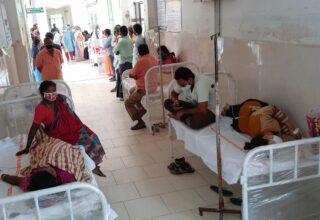 В Индии из-за неизвестной болезни госпитализировано 455 человек