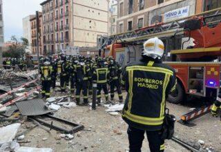 В результате взрыва в Мадриде погибли три человека — фото, видео