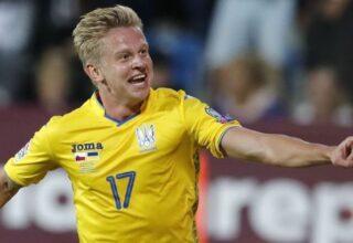Зинченко стал самым молодым капитаном за всю историю сборной Украины в официальных матчах