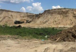 В Киеве будут судить организатора незаконной добычи песка на общую сумму в 626 млн гривен