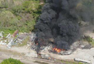 В США на химическом заводе вспыхнул пожар, ситуация уже под контролем