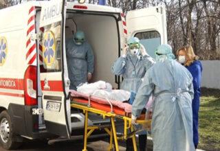 В Киеве зафиксировали 868 новых случая заражения на COVID-19