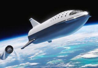 Компанией SpaceX будет создан корабль для NASA с целью высадки астронавтов на Луну