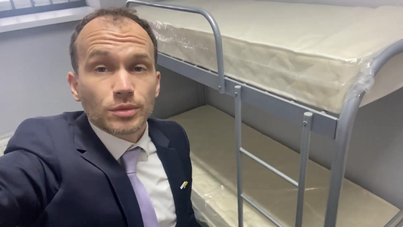 В Киевском СИЗО новый корпус с камерами европейского уровня