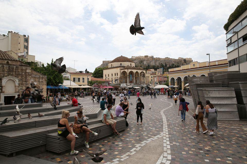 Греция снова открыта для туризма
