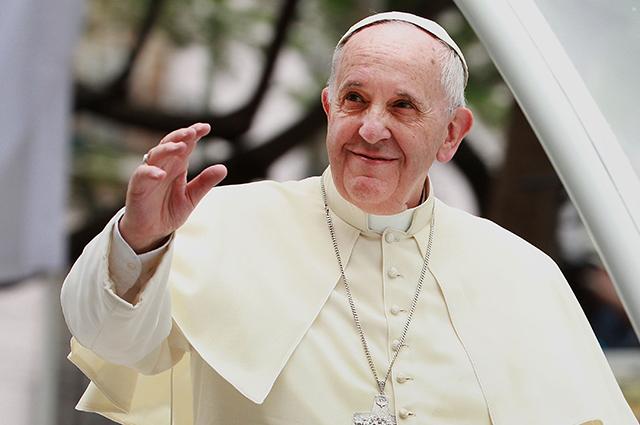 Папа Римский Франциск поздравил православных всего мира с праздником Пасхи