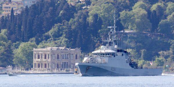 В акваторию Черного моря зашел патрульный корабль королевского флота Великобритании Trent