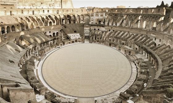 Римский Колизей обретёт высокотехнологичную арену