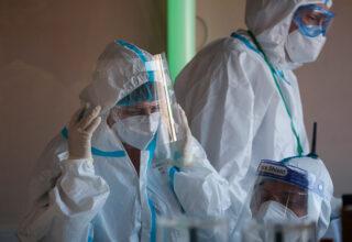В Киеве за минувшие сутки было зафиксировано 215 случаев заболеваемости на COVID-19, погибло 3 человека