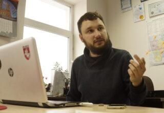Главного редактора информационного издания «Hrodna life» Алексея Шота задержали прямо перед домом