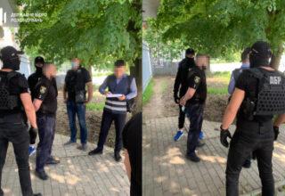 В Харькове задержан полицейский при получении неправомерной выгоды за «продажу» должности в ГБР