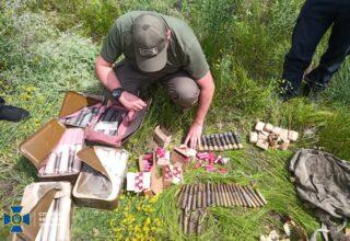 В Луганской области СБУ обнаружила схрон боеприпасов, принадлежащий боевикам