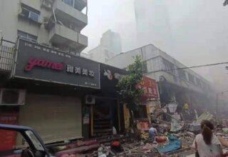 В результате взрыва газовой трубы в китайском городе погибло 11 человек