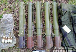 В прифронтовом населённом пункте Торецкое полицией изъят схрон боеприпасов: фото
