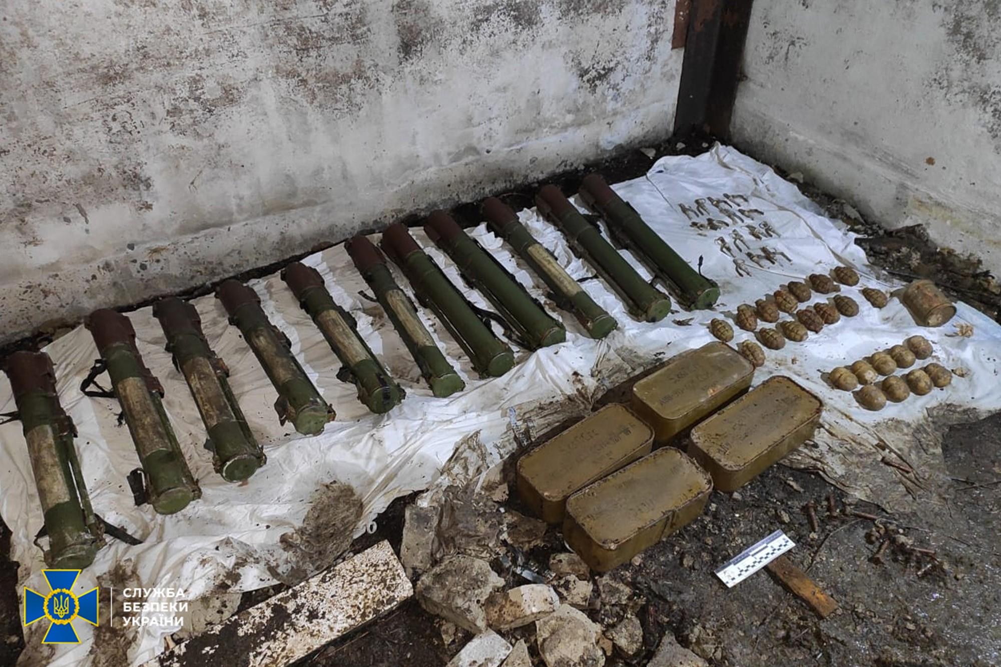 В Донецкой области ликвидирован тайник боевиков группировки террориста Гиркина