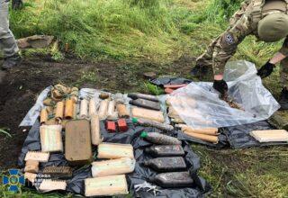 В Донецкой области СБУ ликвидировала скрытый арсенал снайпера из «ДНР»