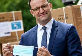Министр Здравоохранения Германии может лишиться должности в связи с закупкой медицинских масок низкого качества