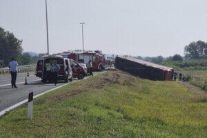 В Хорватии автобус с 45 людьми попал в ДТП: 10 человек погибло в результате происшествия