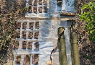 Сотрудники СБУ обнаружили четыре новых тайника с оружием боевиков так называемых «Л/ДНР»