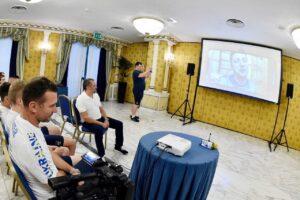 Зеленский позвонил сборной Украины по футболу перед матчем Украина — Англия
