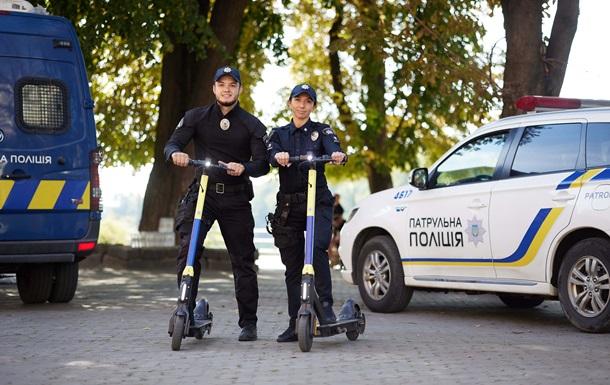 Украинские полицейские получат самокаты