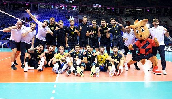 Украина сыграет против России в 1/8 финала чемпионата Европы-2021 по волейболу