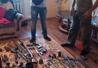СБУ разоблачила чёрного археолога, который продавал оружие времён Второй мировой войны