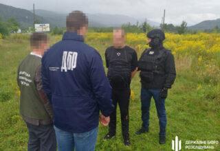 На территории Закарпатья сотрудники ГБР задержали военнослужащего при продаже метамфетамина