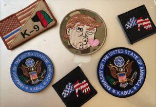 На одном из местных базаров Кабула появились в продаже армейские награды армии США, шевроны и патчи